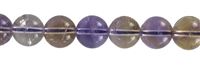 String beads, Ametrine, 12mm