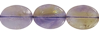 String Flat Oval, Ametrine A, 20 x 15mm