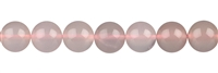 String Beads, Chalcedoy (pink) A, 10mm