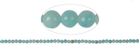 String Beads, Amazonite (light), 03mm