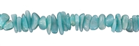String Splint, Amazonite (light), 02-06 x 05-10mm