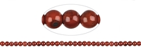 String Beads, Agate red (natural), 05-06mm