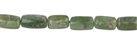 String Cylinder rounded, Disthene (green), appr. 10-11 x 07mm