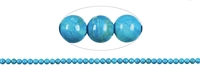 String Beads, Turquenite (dyed Magnesite), 02mm