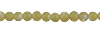 String Beads, Mother of Pearl (light brown), 02mm