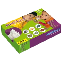 "Collection box ""minerals"" (7 pc)"