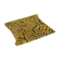 Cushion Box, 07 x 11cm, yellow/black (50 pc/VE)