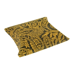 Cushion Box, 10 x 11,5cm, yellow/black (50 pc/VE)