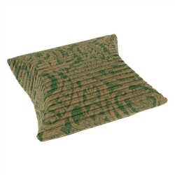 Cushion Box, 07 x 11cm, green/beige (50 pc/VE)