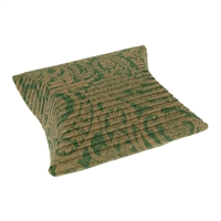 Cushion Box, 10 x 11,5cm, green/beige (50 pc/VE)