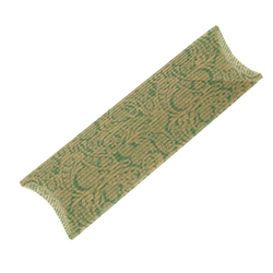 Cushion Box, 06 x 30cm, green/beige (50 pc/VE)