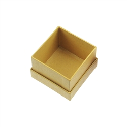 Jewellery Box, 02,5 x 02,5cm, yellow (48 pc/VE)