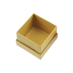 Jewellery Box, 3,5 x 3,5cm, yellow (36 pc/VE)