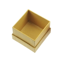 Jewellery Box, 4,5 x 4,5cm, yellow (24 pc/VE)