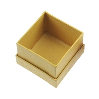 Jewellery Box, 5,5 x 5,5cm, yellow (24 pc/VE)