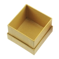 Jewellery Box, 7,5 x 7,5cm, yellow (12 pc/VE)