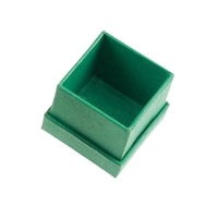 Jewellery Box, 3,5 x 3,5cm, green (36 pc/VE)