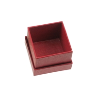 Jewellery Box, 02,5 x 02,5cm (Size 1), red (48 pc/VE)