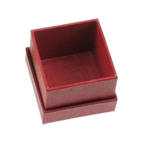 Jewellery Box, 5,5 x 5,5cm (Size 4), red (24 pc/VE)
