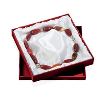 Box with Lid, 18 x 18cm, red (6pc/VE)