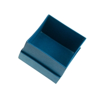 Jewellery Box, 3,5 x 3,5cm, blue (36 pc/VE)