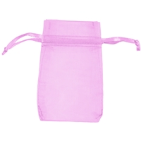 Organza Bag, 14 x 20cm, pink (50 pc/VE)