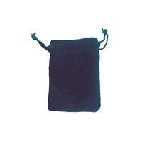 Velvet Bag, 05 x 7cm, blue (50 pc/VE)