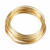 Wire 0.6 mm, Copper gold plated (10 m/VE)