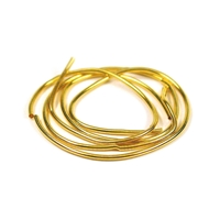 Spiral Wire gold plated, big, 1mm/1m