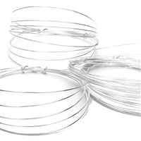 Wire 1,0mm, Silver (1,2m/VE)