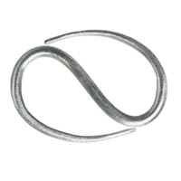 S-Hook Design 30mm, Silver (2 pc/VE)