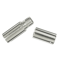 Bayonet Nut Connector for 2,0mm Cords, Silver (1 pc/VE)