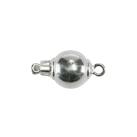 Ball Clasp 06mm, Silver (1 pc/VE)