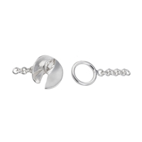"Toggle ""Kreisel"" 19mm, Silver (1 pc/VE)"