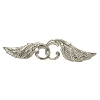 Peacock Wings 42mm, Silver (1 pc/VE)