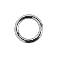 Clamp Ring round 16,5mm, Silver (1 pc/VE)