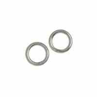 Jump Ring 06mm, Silver (37 pc/VE)