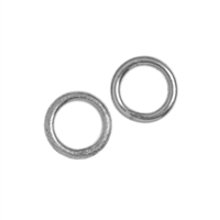 Jump Ring 08mm, Silver (20 pc/VE)