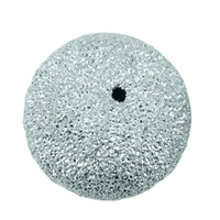Bead 08,0mm, Silver stardust (6 pc/VE)