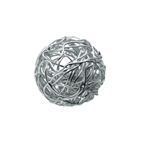 "Bead ""Wire Ball"" 10mm, Silver (1 pc/VE)"