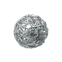 "Bead ""Wire Ball"" 12mm, Silver (1 pc/VE)"