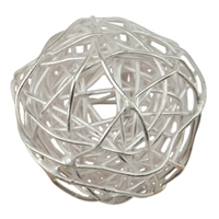 "Bead ""Wire Ball"" 14-16mm, Silver (2 pc/VE)"