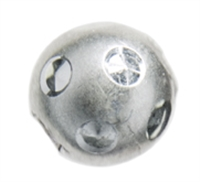 "Bead ""Moon"" 10 mm, Silver (3 pc/VE)"