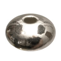 Saucer 3mm, Silver (92 pc/VE)