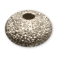 Saucer 4mm, Silver stardust (50 pc/VE)