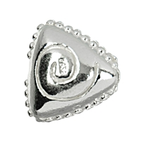 Triangle Spiraldecor, Silver, 12mm (3 pc/VE)