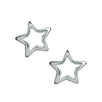 Star, 5 mm, Silver (13 pc/VE)