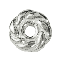 Knurlet ring 5mm, Silver (26 pc/VE)