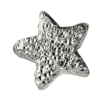 Sparkling Star 5mm, Silver stardust (25 pc/VE)