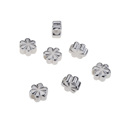 Clover 5,0mm, Silver (10 pc/VE)